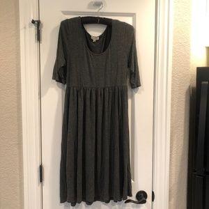 Zenana Premium Grey Dress